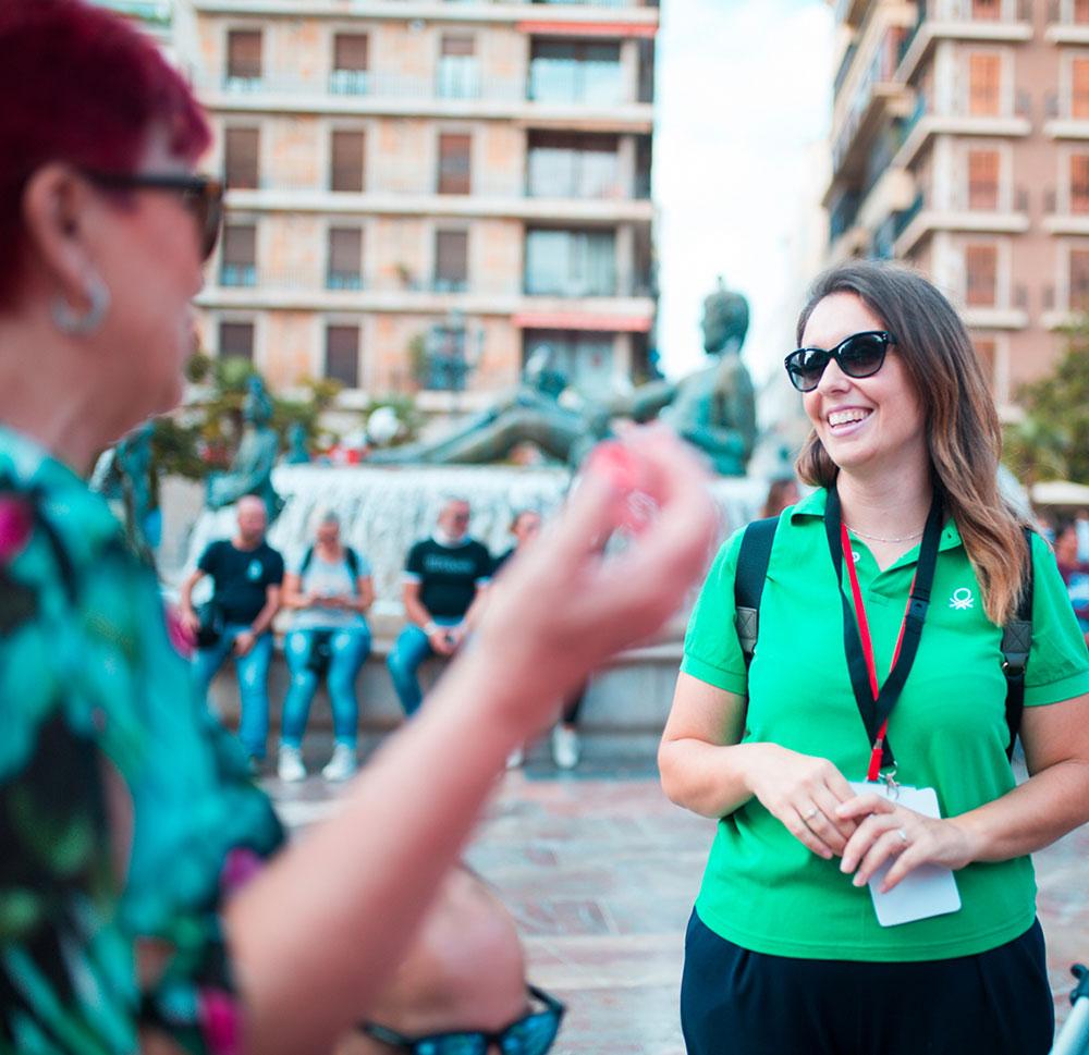 Guia Oficial Menta Free Tour Valencia